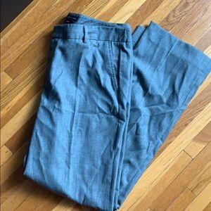 Grey Stretch Wool Pants